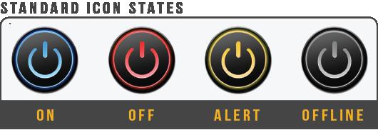 Standard Icon States