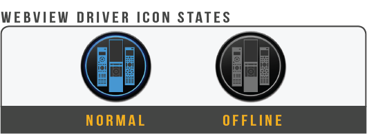 Remote Agent Webview Icons