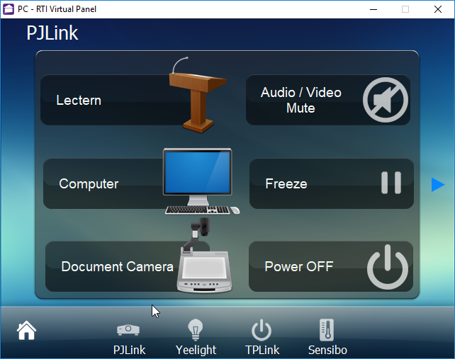 Platforms :: RTI Drivers :: Audio/Video :: PJLink Universal