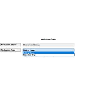 Properties Page: Mechanism Settings