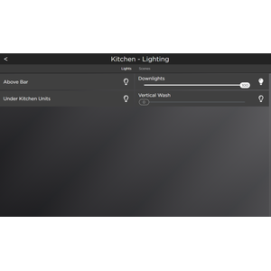 A familiar Control4 interface for control of your devices
